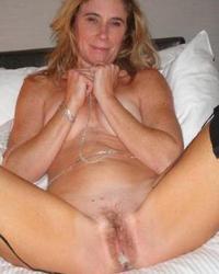 Slut Wife Bridgette Mature Hairy Pussy 5
