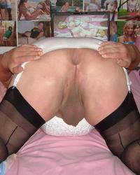 Fat sissy posing 3