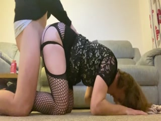 Attractive Crossdresser Getting Rammed In The Tigh Ass Hole