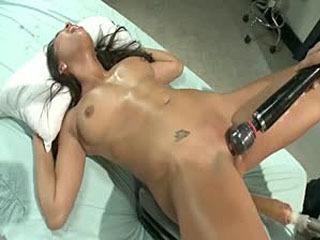 Het Meisje Bellen Over Toen Zij Cums