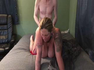 Chubby And Sexy Blonde Takes A Dick Deep Inside Her Cunt