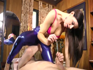 Mistress Has A Slave At Her Mercy Punishing And Sounding His Cock