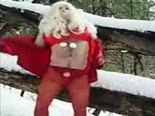 Foxyguygirl Xmas Striptease