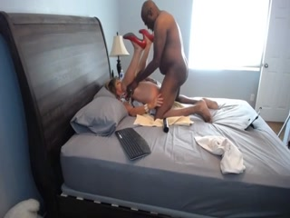 Naughty Bitch Invited A Black Stallion To Her Apartment To Fuck Her