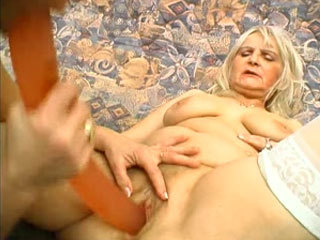 Two Grannies Fucking With A Toy