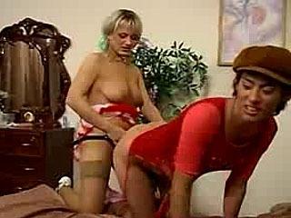 Irene E Jack Brincar Com Um Vibrador E Meia-Calça!