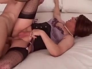 Horny Sissy Gets Hard Pounded In The Butt By Older Man