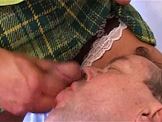 См. Tranny Mistress Pleasure Herself With Male Slave