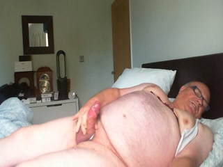 Naked Wank With My Big Cock