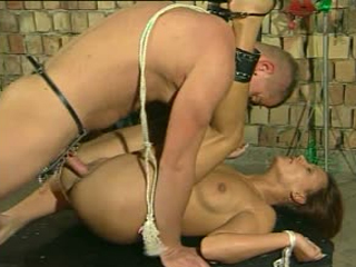 Sex Slaves In Bondage Forced To Fuck Rough