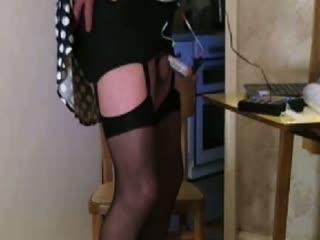 Slut Johanna Cam 6b E-Stim