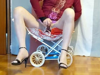 Mega Masturbate And Cumshot Stroller
