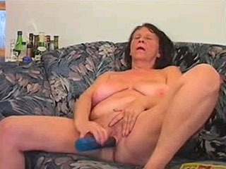 Dick Addicted Granny Loves To Be Used