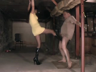 Ballbusting In The Cave