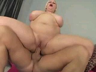 Chunky Girl Exercises For Pleasure