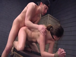Submissive Lady Is Gagged And Adores Rough Sex