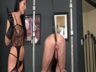 Ruthless Ball Busting Bondage