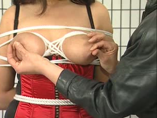 Rope Tied Tits