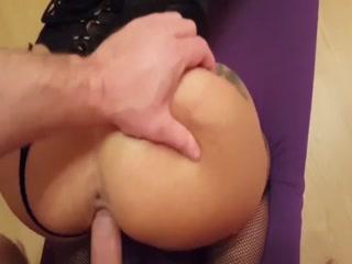 Dirty Babe Enjoying In BDSM Sex