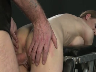 Restrained Slut Gets Fucked By Master